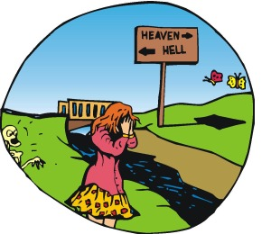 Into Hell!