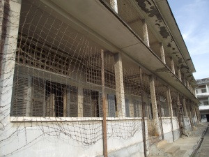 The Tuol Sleng Genocide Museum.  School where victims were housed.